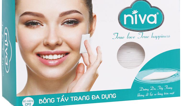 """Bông tẩy trang Niva - """"vũ khí"""" chăm sóc da mà bạn không thể bỏ lỡ"""
