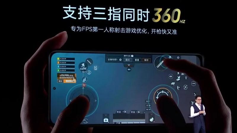 Redmi K40 cso màn hình tần số quét 360 Hz