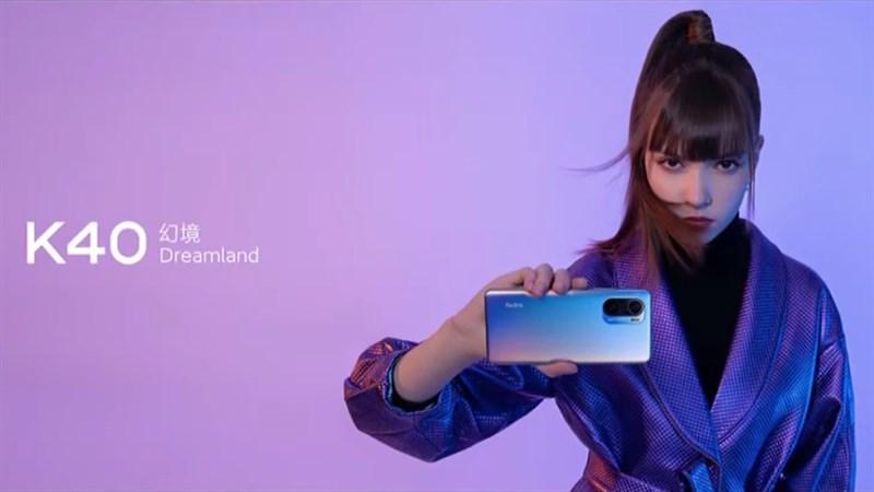 Xiaomi Redmi K40 đã chính thức ra mắt