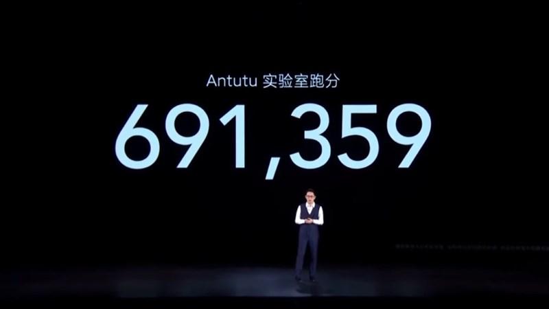 Điểm số Antutu của Xiaomi Redmi K40