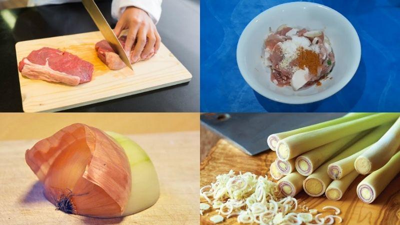Cách chế biến món thịt lợn xào lăn