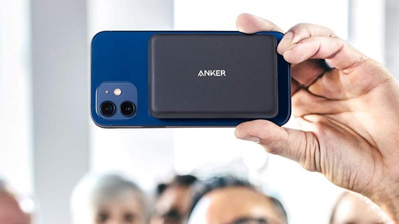 Anker PowerCore Magnetic 5K ra mắt: Sạc dự phòng không dây MagSafe, tương thích với dòng iPhone 12 và cả ốp lưng MagSafe
