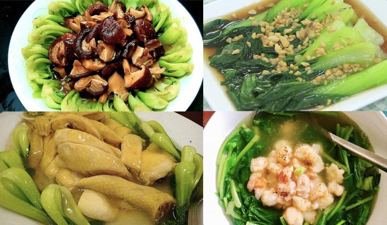 Tổng hợp 8 món ngon từ cải thìa thơm ngon dễ làm