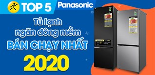 Top 5 Tủ lạnh ngăn đông mềm Panasonic bán chạy nhất 2020 tại Điện máy XANH