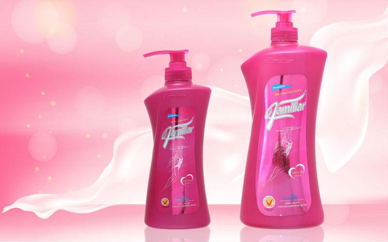 Thương hiệu sữa tắm collagen Familiar