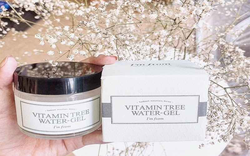 Thành phần chính của gel dưỡng ẩm I'm From Vitamin Tree Water Gel