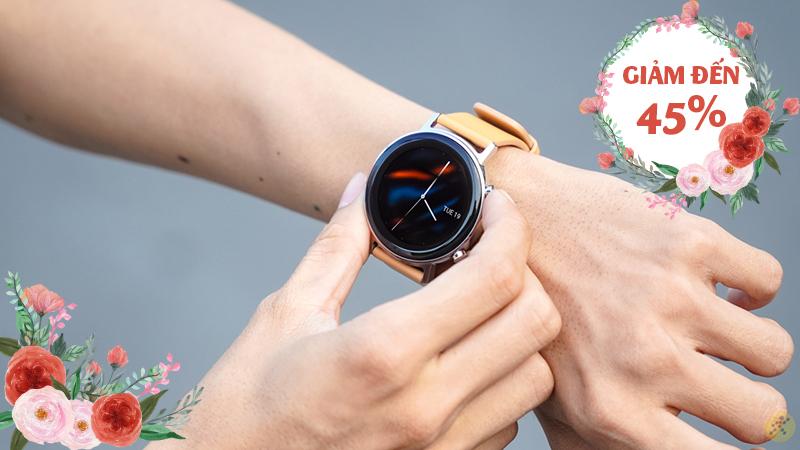 Nàng Thích Chàng Chi, đồng hồ thông minh tưng bừng giảm khủng đến 45%