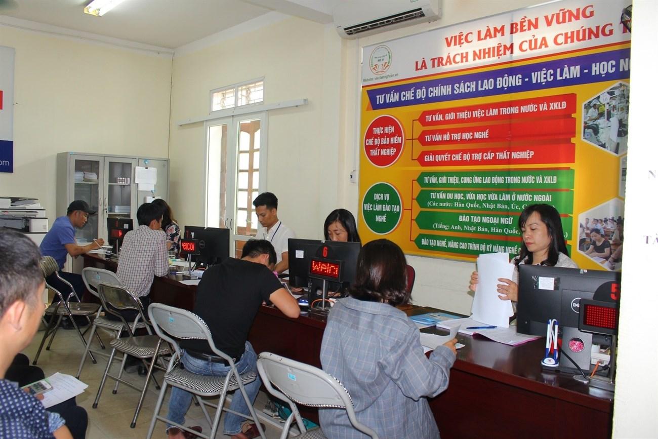 Trung tâm giới thiệu việc làm