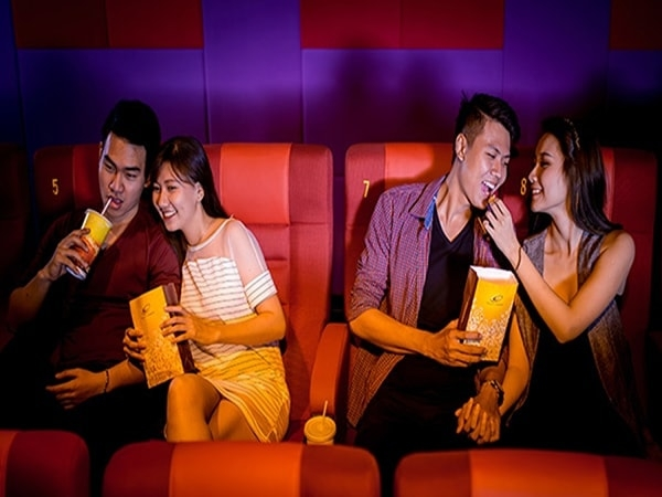 Buổi xem phim lãng mạn