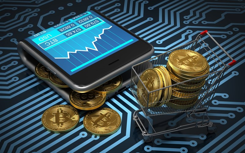 Bitcoin is traded directly without going through any financial intermediaries!
