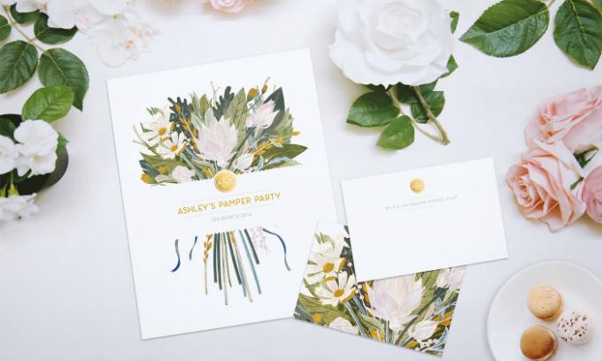 Hoa và thiệp