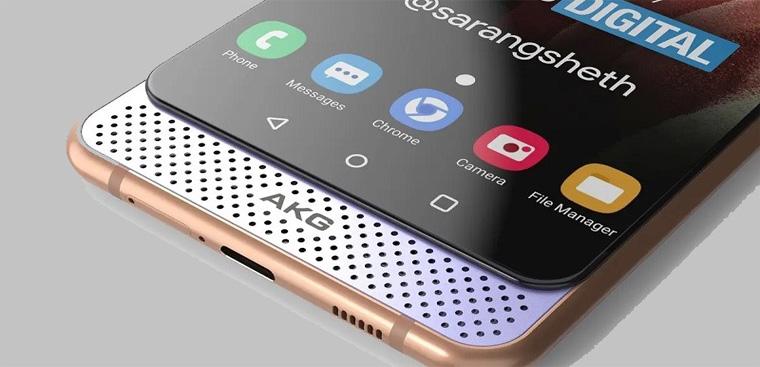 Lộ ảnh render Samsung Galaxy A82 với cơ chế trượt kép siêu độc lạ