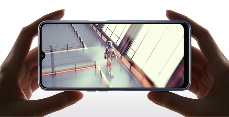In terms of display, OPPO A55 5G has a water drop screen design with a size of up to 6.5 inches, accompanied by an LCD panel and HD + resolution.  With a screen like this, the experience of watching movies or playing games on OPPO A55 5G will be very good.  However, the colors displayed are just average.