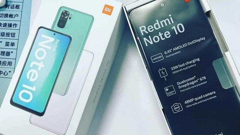 Rò rỉ hình ảnh sản phẩm Redmi Note 10 phiên bản toàn cầu