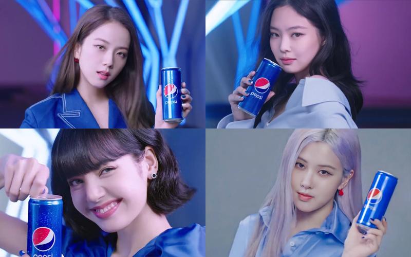 Chiến dịch này được sản xuất độc quyền với màu xanh của Pepsi