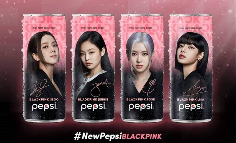Pepsi x BLACKPINK không calo