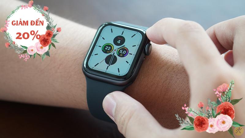 Apple Watch đang ưu đãi giảm lớn lên đến 20% mừng ngày Quốc Tế Phụ Nữ