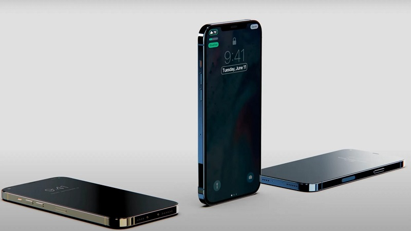 iPhone 13 (iPhone 12s) sẽ đi kèm với notch tai thỏ nhỏ gọn, pin dung lượng lớn hơn, riêng model Pro còn có màn hình LTPO 120Hz