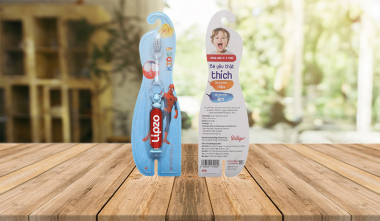Những lý do các mẹ nên lựa chọn bàn chải đánh răng Lipzo cho bé