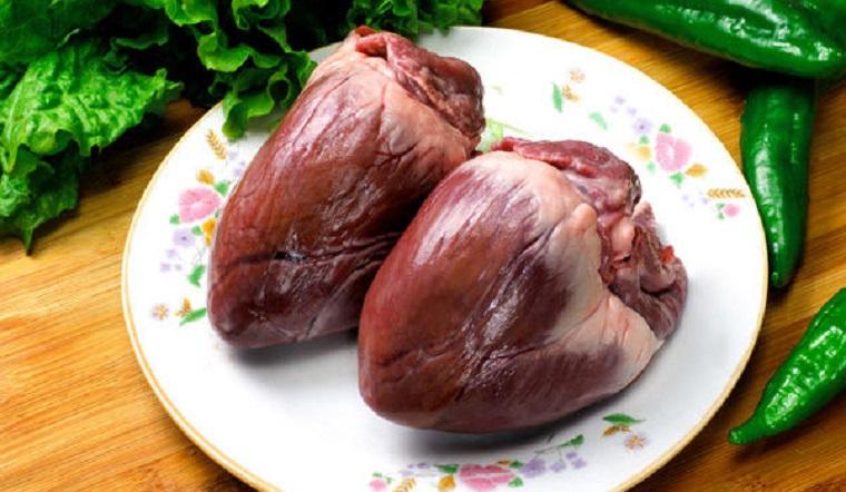 Cách làm tim heo sạch không còn mùi tanh của máu