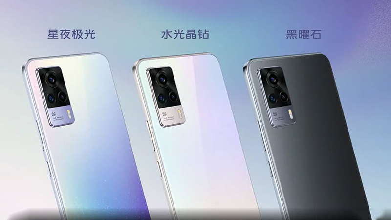 Vivo S9 has an electromagnetic kitchen camera cluster that includes 3 cameras