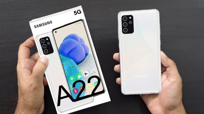 Smartphone 5G giá rẻ Samsung Galaxy A22 5G sắp sửa ra mắt, các tùy chọn màu sắc cũng được xác nhận