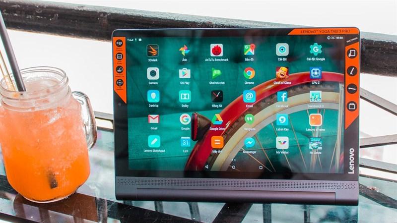 Tablet Lenovo Yoga Tab 13 với chip Snapdragon 855, RAM 8GB được phát hiện trên Google Play Console và Geekbench
