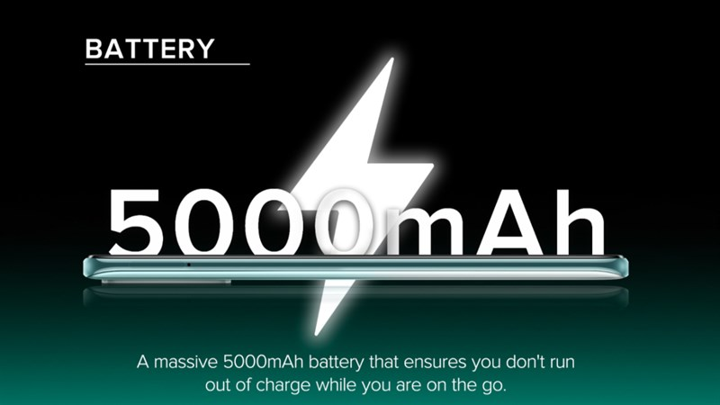 To power our device, Xiaomi has equipped a 5,000 mAh battery for Redmi Note 10. I think how much this is enough to satisfy us plowing movies, plowing games throughout or chatting. Facebook types.  Hopefully the device will soon be available in Vietnam and I have a detailed assessment of the battery right away for you to see.