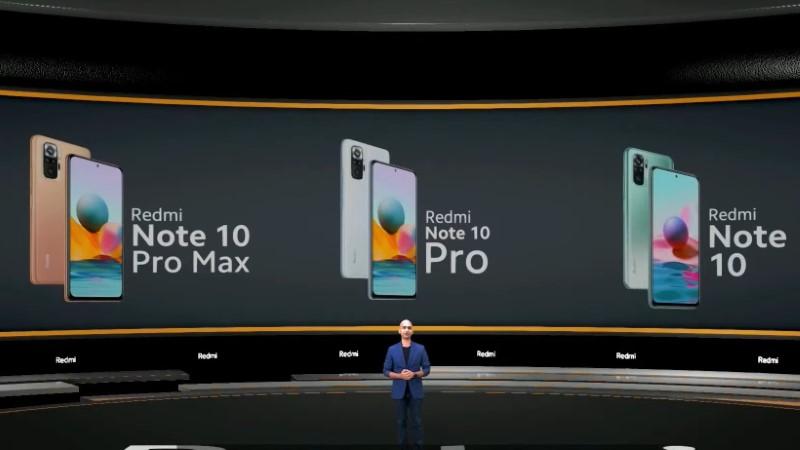 Redmi Note 10, Redmi Note 10 Pro và Redmi Note Pro Max ra mắt