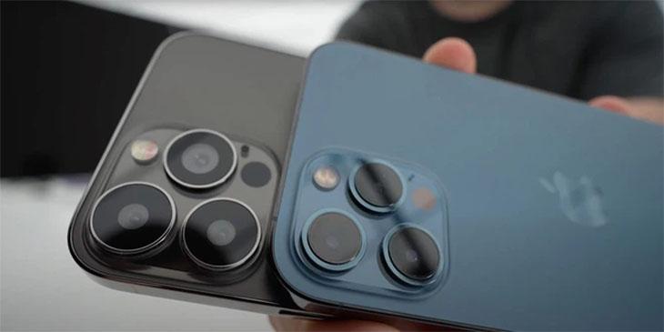 Cụm camera iPhone 13 sẽ được bao phủ bởi một lớp kính bảo vệ chung