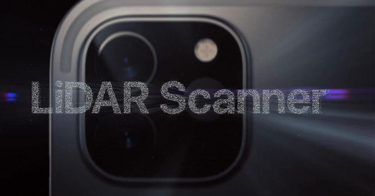 Máy quét LiDAR trên iPhone 13