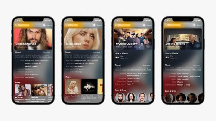 Spotlight được cải thiện với nhiều đề xuất tìm kiếm dựa trên thói quen người dùng
