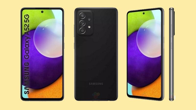 Samsung Galaxy A52 5G phiên bản màu đen với bộ nhớ trong 128 GB lộ giá bán trên một trang bán lẻ, bạn thấy mức niêm yết này OK chứ?