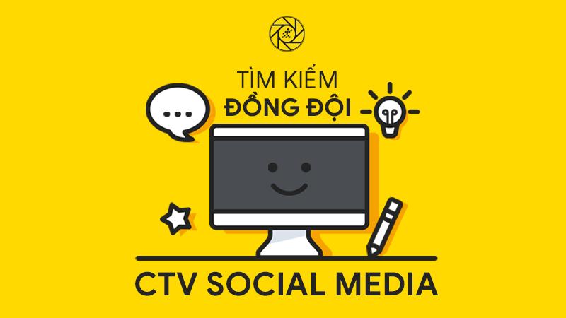 Tuyển dụng CTV Social Media