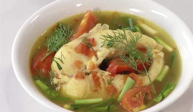 Canh cá lóc nấu mẻ chuẩn vị miền bắc cá lóc ngon ngọt vị chua thanh