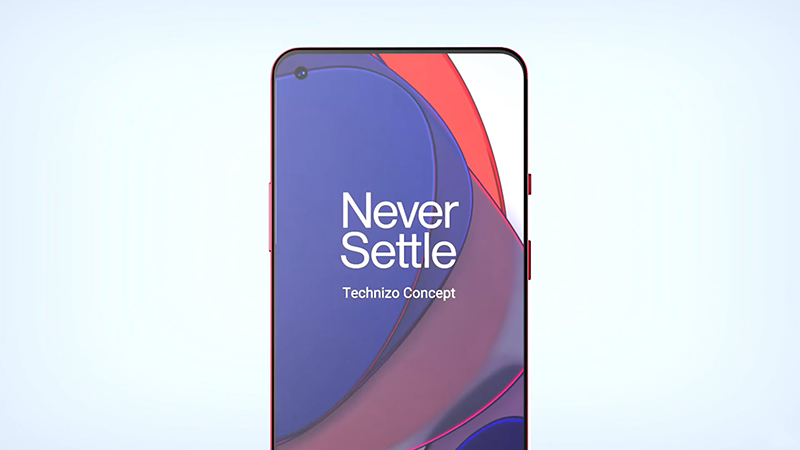The OnePlus 9 Pro has a large display with a sharp 2K + resolution