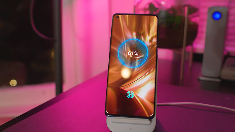 The OnePlus 9 Pro has a 5,000 mAh battery and 65 W fast charging