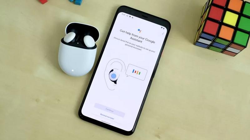 Điện thoại và tai nghe Pixel