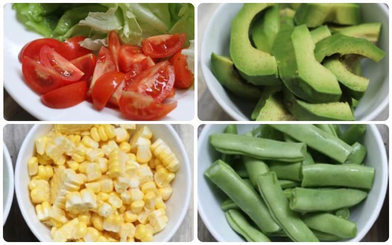 Cách làm món salad bơ tôm
