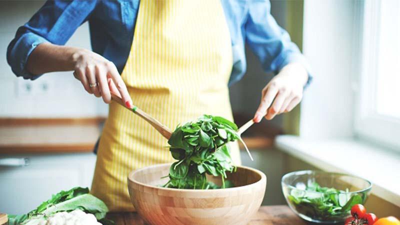 Cách làm món salad khoai tây nướng