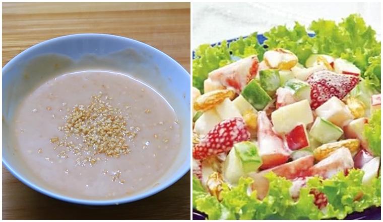 Cách làm nước sốt chua ngọt trộn salad món nào cũng ngon
