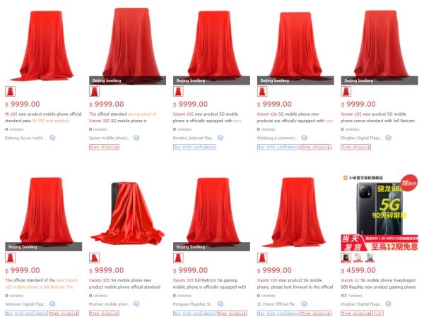 Xiaomi Mi 10S xuất hiện trên JD.com, giá niêm yết có thể chỉ là giá đặt chỗ, chưa phải chính thức