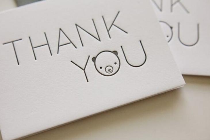 Những câu cảm ơn khi nhận được quà bằng tiếng Anh
