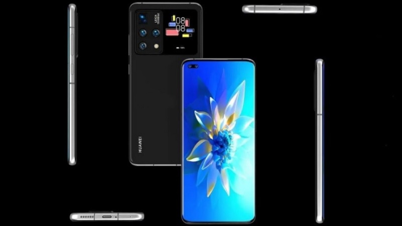 Xuất hiện mẫu smartphone Huawei với thiết kế màn hình kép cùng nhiều tính năng hữu ích