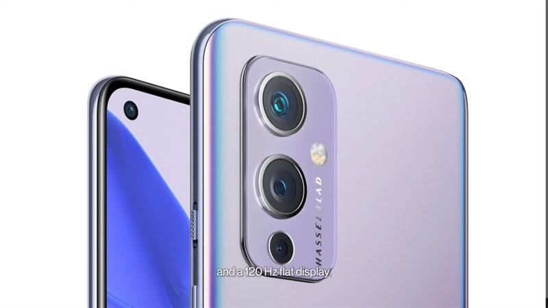 Cụm 3 camera được trang bị trên OnePlus 9 5G