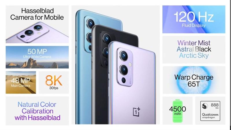 Cấu hình của OnePlus 9 5G