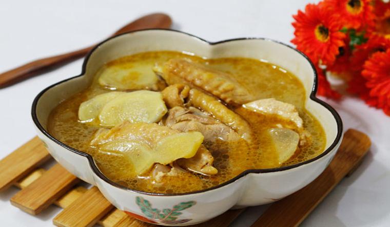 Cách làm canh gà nấu gừng vừa thơm ngon lại giải cảm hữu hiệu