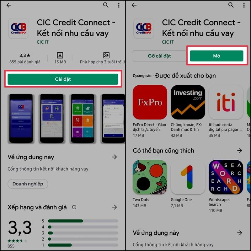 Cách kiểm tra nợ xấu của bản thân thông qua ứng dụng CIC trên điện thoại