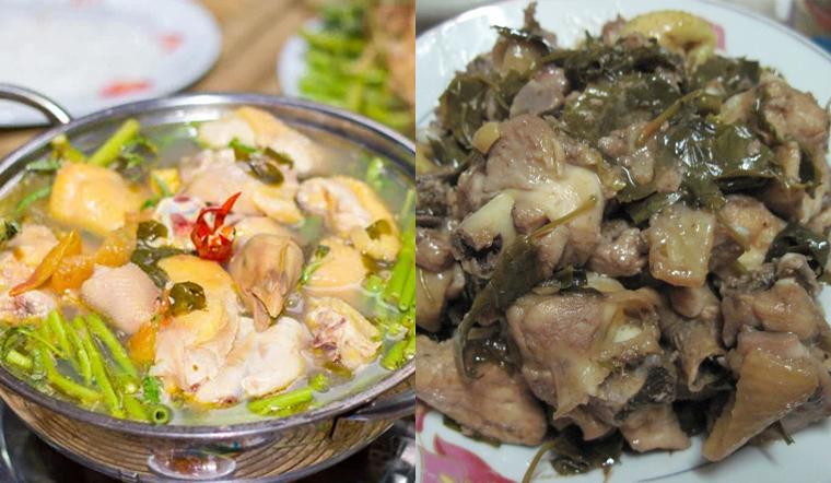 2 cách nấu gà lá giang thịt dai, nước thơm đậm đà