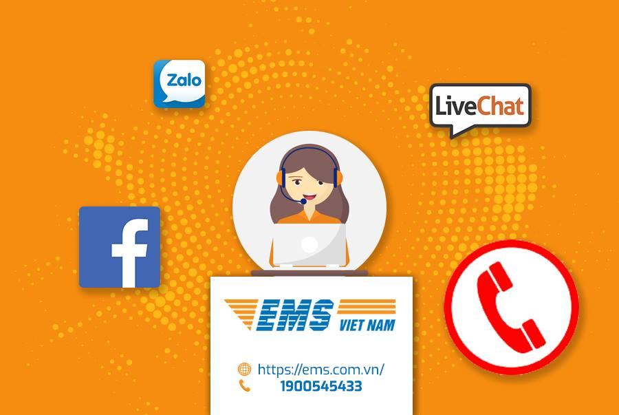Tra cứu đơn hàng EMS bằng cách liên hệ tổng đài